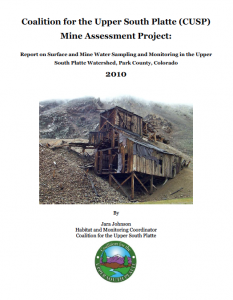 mine assessment project report
