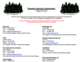 Foresty Contractors