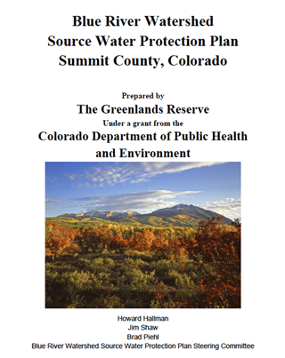 Blue River Source Water Protection Plan