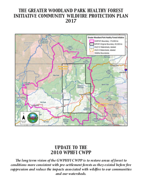 The Greater Woodland Park Healthy Forest Initiative Community Wildfire Protection Plan (2017)