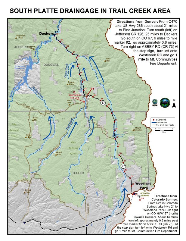 Gis Mapping Coalition For The Upper South Platte