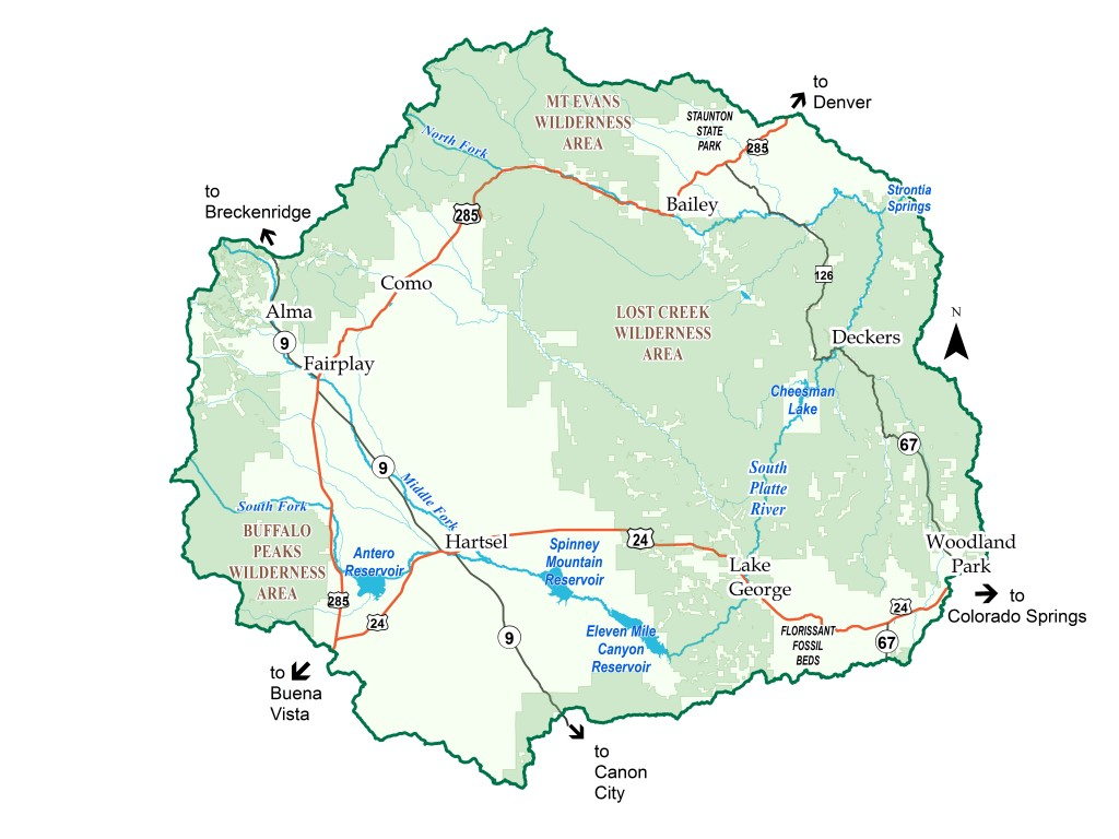 Watershed Recreation Map