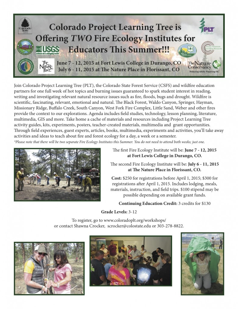 2015 Fire Ecology Institute
