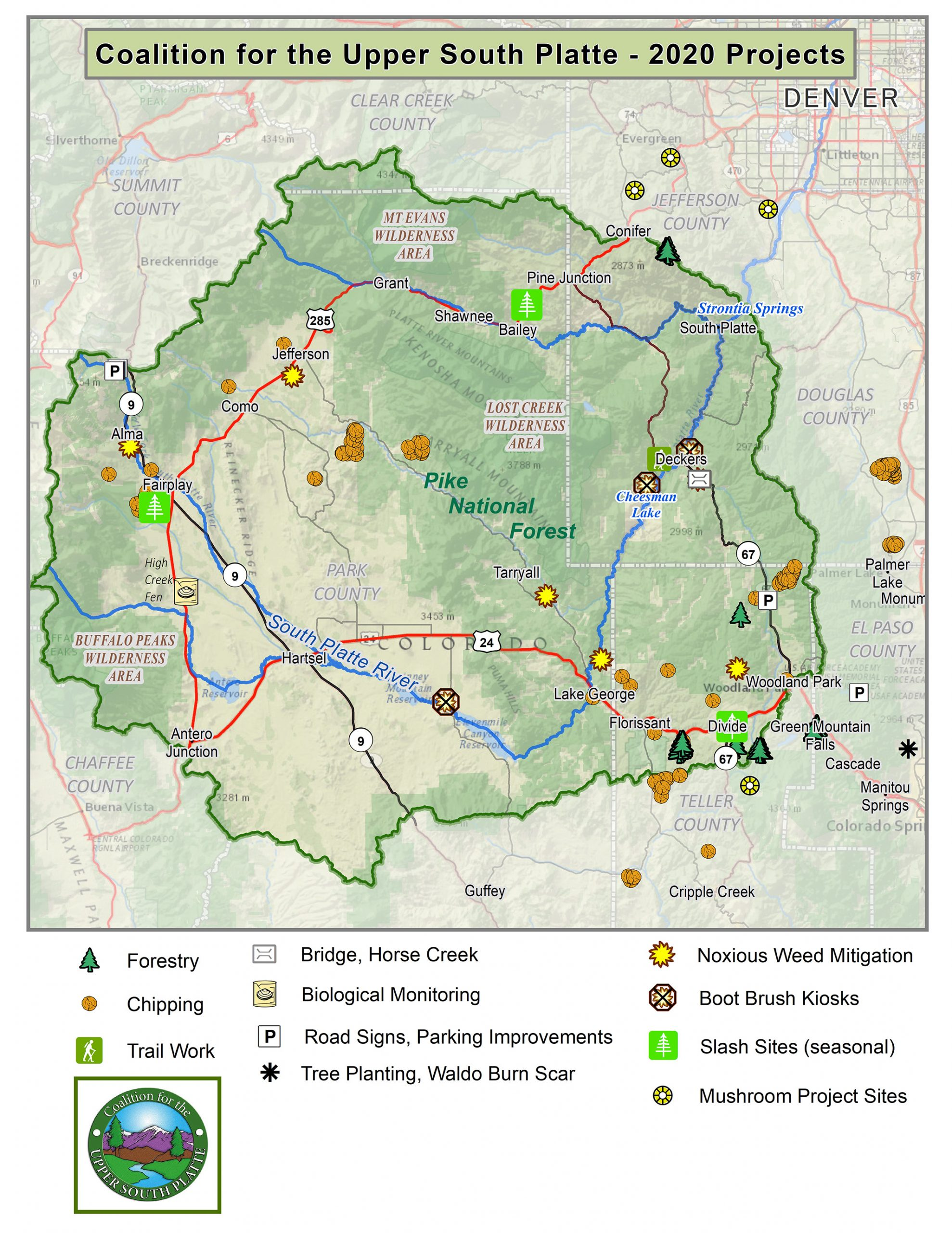 Work in the Watershed in 2020