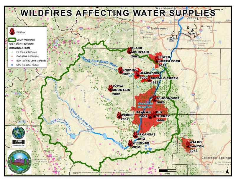 GIS Mapping | Coalition for the Upper South Platte